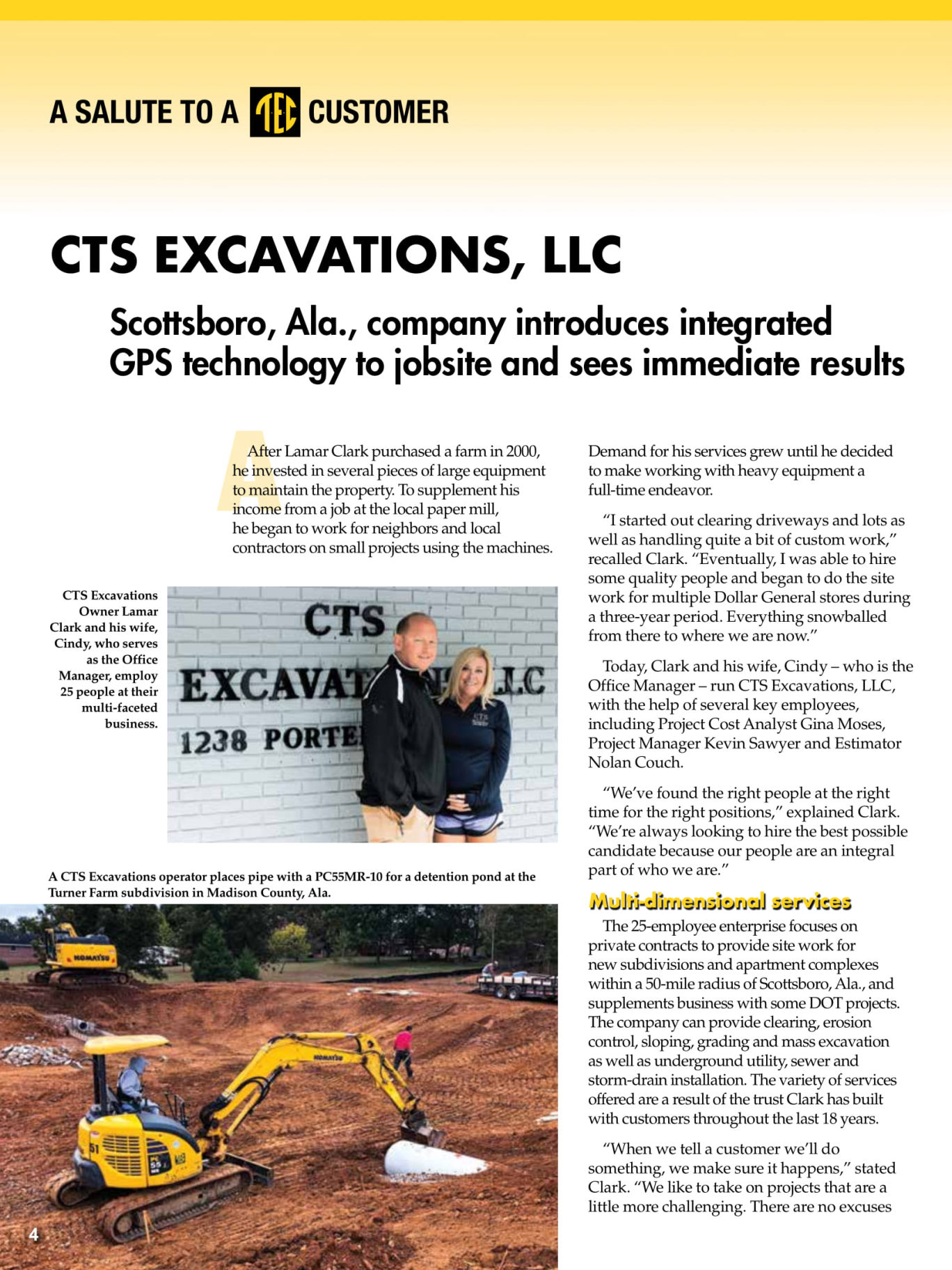 CTS Excavations and Clearing